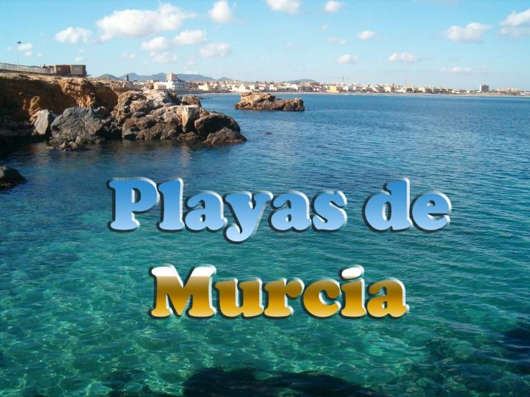 Playas en la Región de Murcia