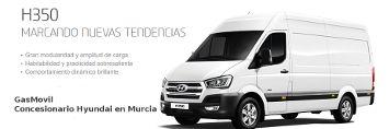 Nueva Furgoneta H350, Gasmovil , concesionario Hyundai en Murcia