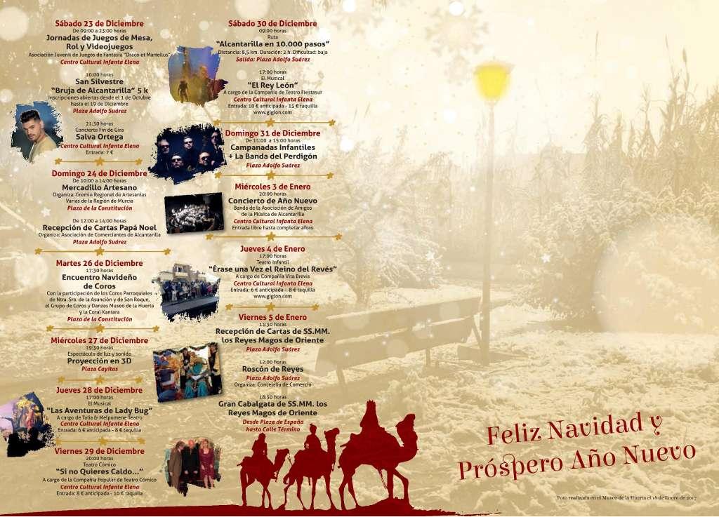 Programación Navidad Alcantarilla