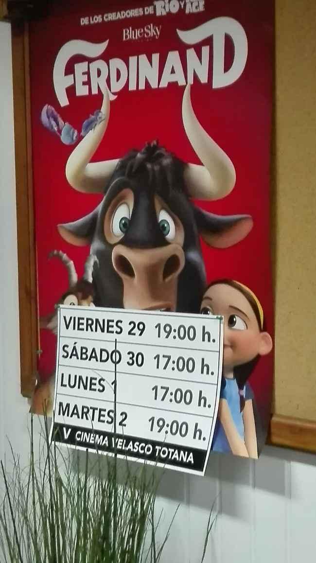 Ferdinand en cine velasco totana