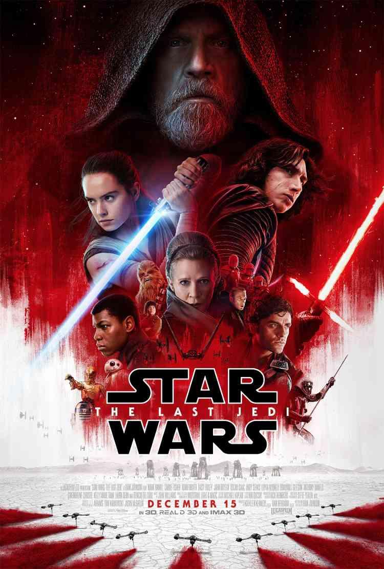 Star Wars: Los últimos Jedi en cine velasco totana