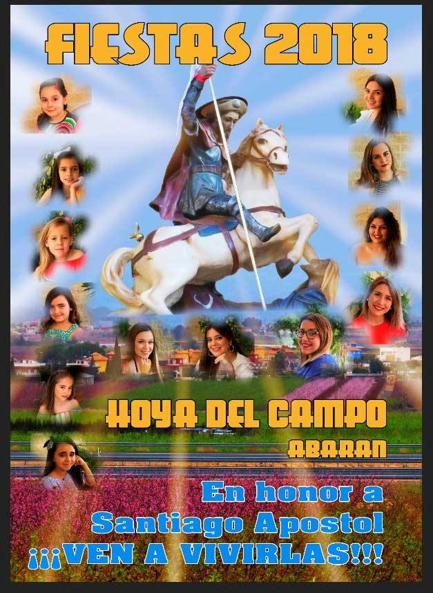 cartel Fiestas de la Hoya del Campo 2018 - Abarán