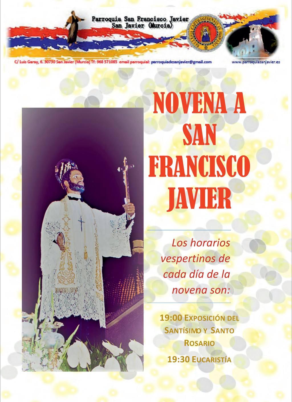 Fiestas San javier 2017