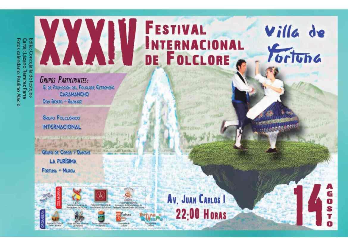 XIV Festival Internacional de Folclore de Fortuna