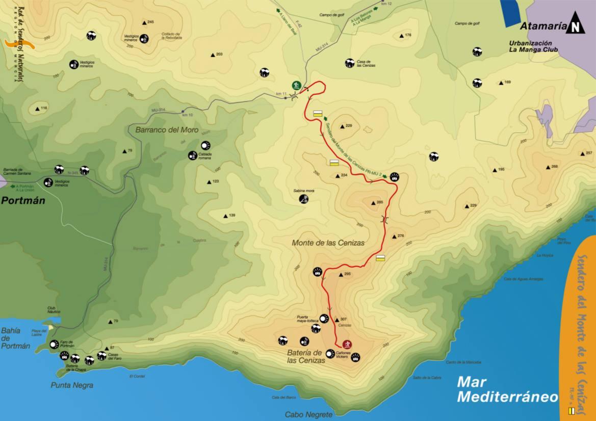 mapa-Sendero sendero-monte-cenizas-cartagena-pr-mu-24