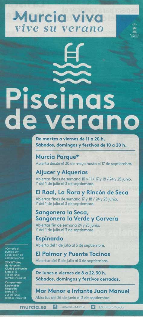 Piscinas Municipales de la Región de Murcia - La Guía W ... - photo#44