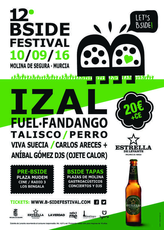 B-SIDE  Festival  Molina de Segura 2016