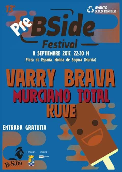 Concierto Pre B-Side , Festival de Molina de Segura