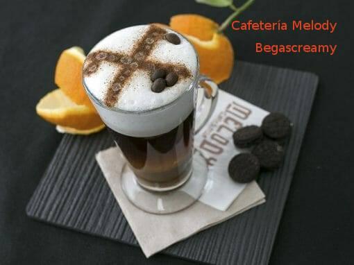Cóctel Begascreamy en Cafetería Melody