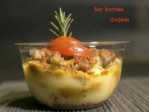Tapa Quijada en Bar Borneo en X ruta de la tapa y coctel de cehegín
