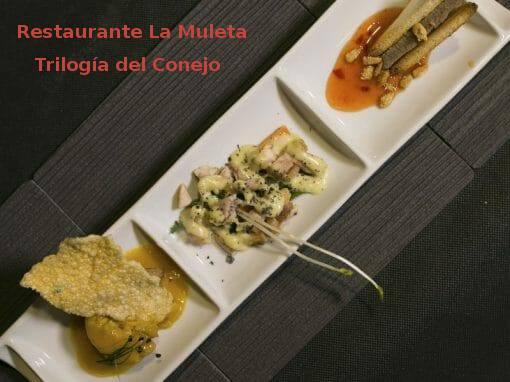 Tapa Trilogía del Conejo en Restaurante La Muleta- X ruta Tapa y el cóctel de Cehegín