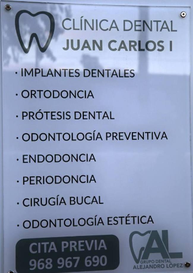 información clínica juan carlos I en Murcia