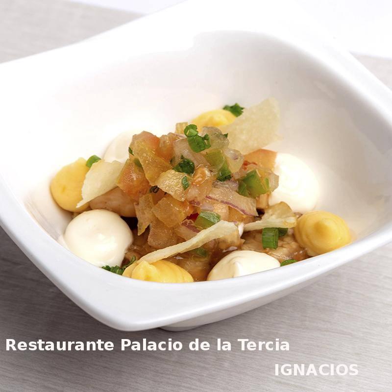 Tapa Hispania en Restaurante Palacio de la Tercia- X ruta Tapa y el cóctel de Cehegín