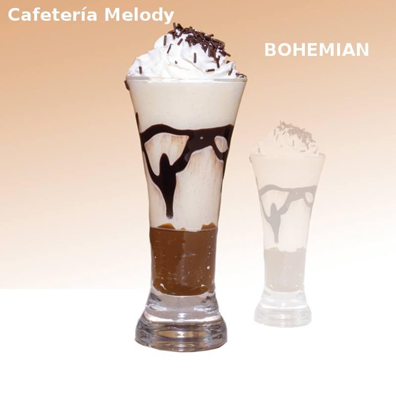 Cóctel BOHEMIAN en Cafetería Melody