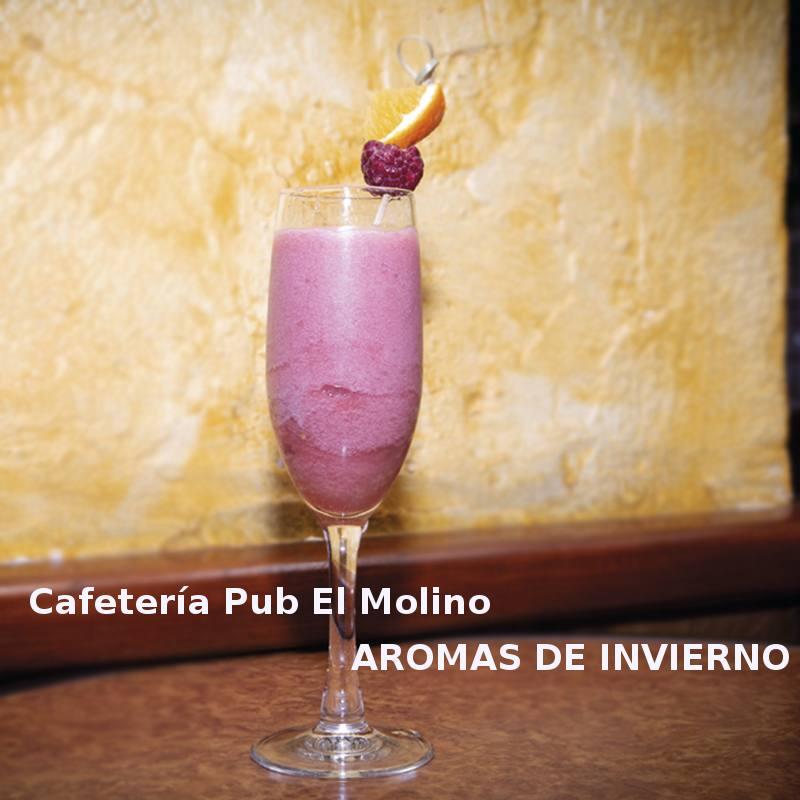 Cóctel AROMAS DE INVIERNO en Cafetería Pub El Molino