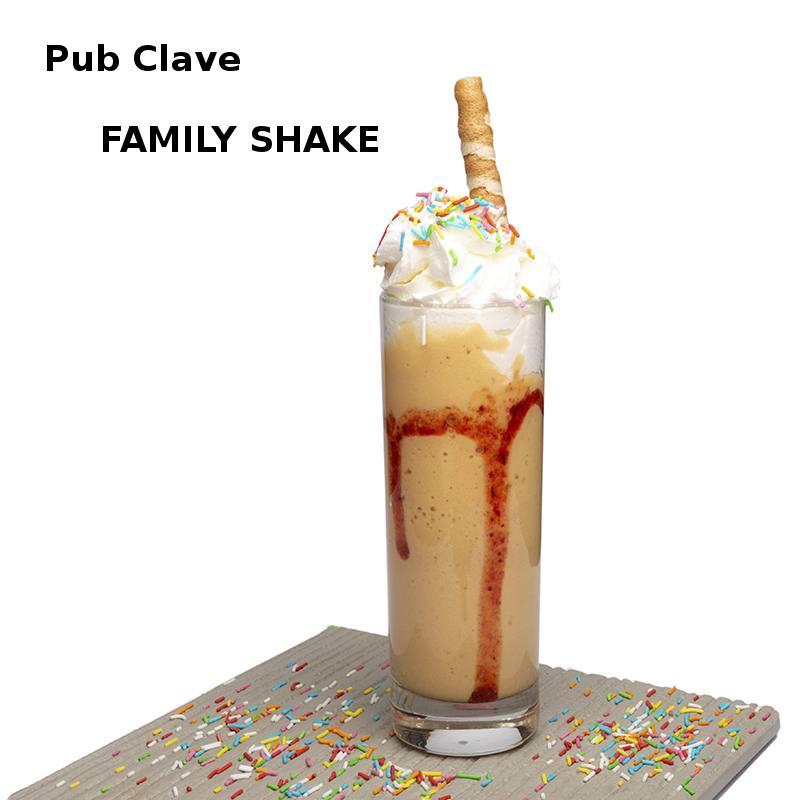Cóctel FAMILY SHAKE en Pub Clave en XI ruta de la tapa y cóctel de cehegín 2019