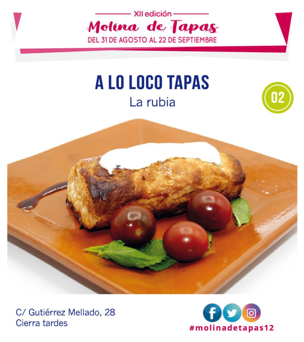 tapa A Lo Loco Tapas para molina tapas 2018
