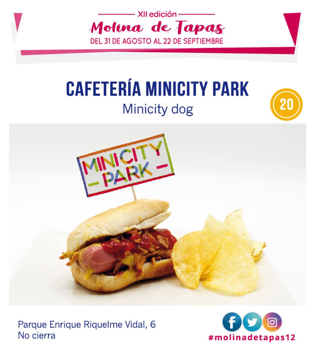 tapa Cafetería Minicity Park para molina tapas 2019