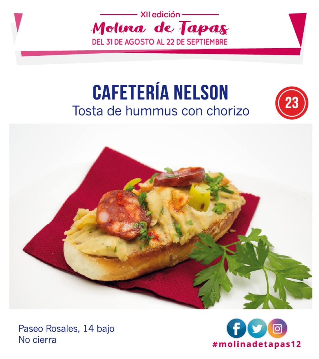 Cafetería Nelson para molina tapas 2019