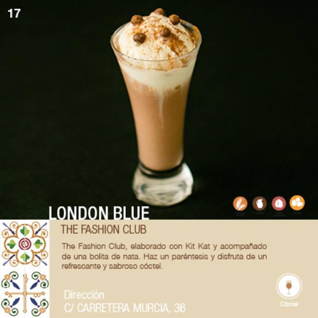 THE FASHION CLUB en LONDON BLUE- XII ruta Tapa y el cóctel de Cehegín 2020