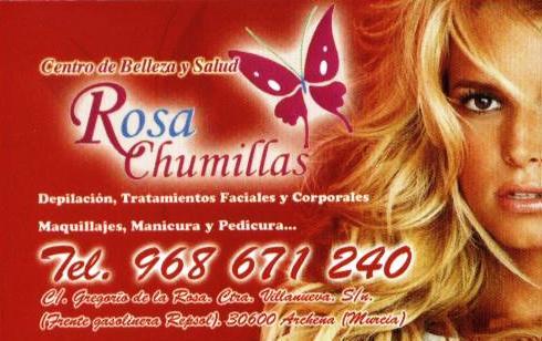 Centro De Belleza Y Salud Rosa Chumillas