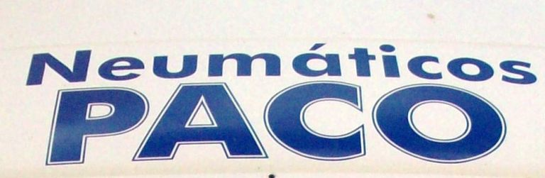 Neumaticos Paco