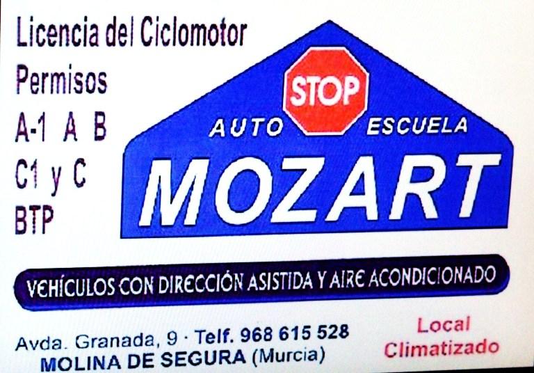 Autoescuela Mozart.