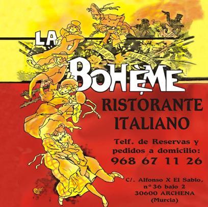 Restaurante Italiano La Boheme