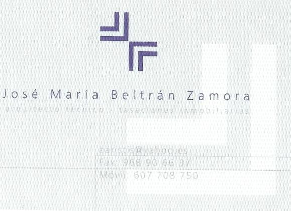 José María Beltrán Zamora