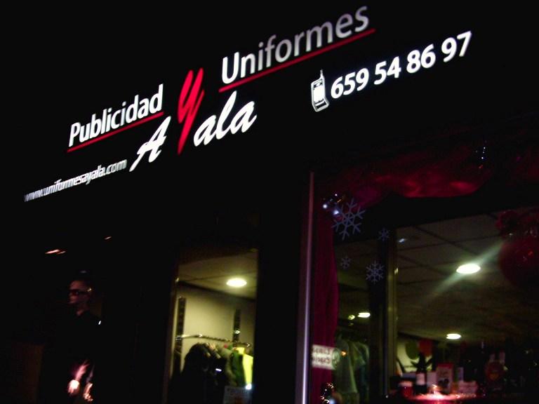 Publicidad y Uniformes Ayala