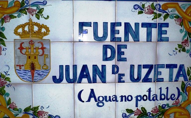 Fuente de Juan de Uzeta de Totana