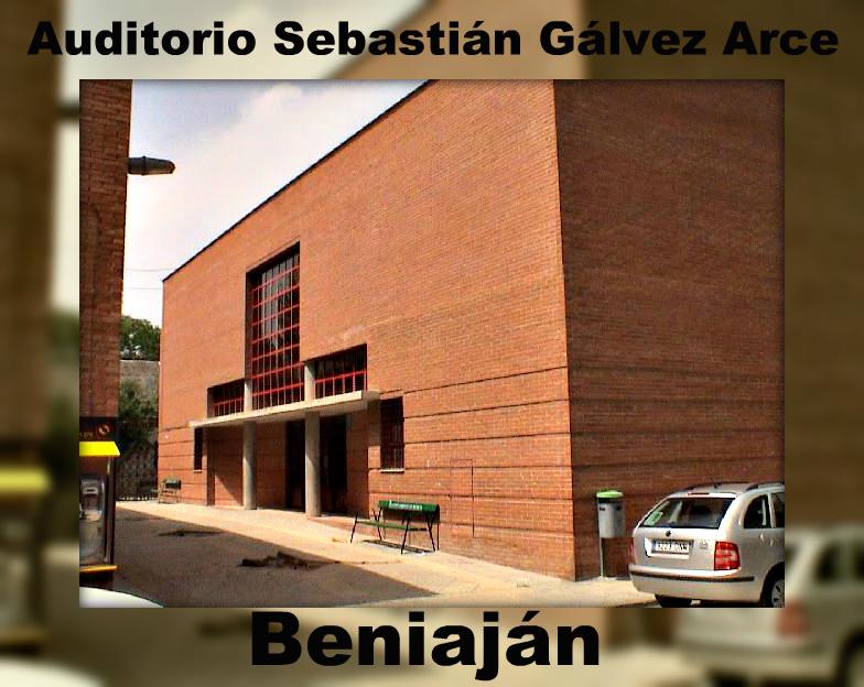 Auditorio y Centro de Artes Escénicas Sebastián Gálvez Arce de Beniaján