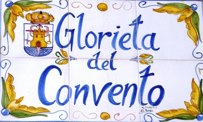 Glorieta del Convento de Totana