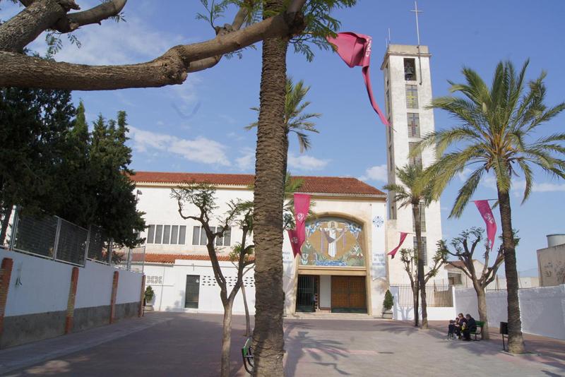 Iglesia Parroquial del Sagrado Corazón de Jesús en Molina de segura