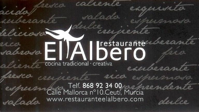 RESTAURANTE EL ALBERO Programación Fiestas Ceutí 201