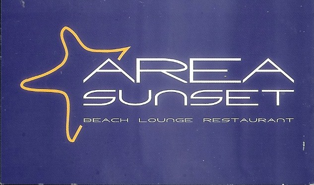 Restaurante Area Sunset Beach Lounge