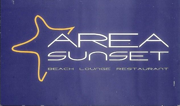 Restaurante Area Sunset Beach Lounge
