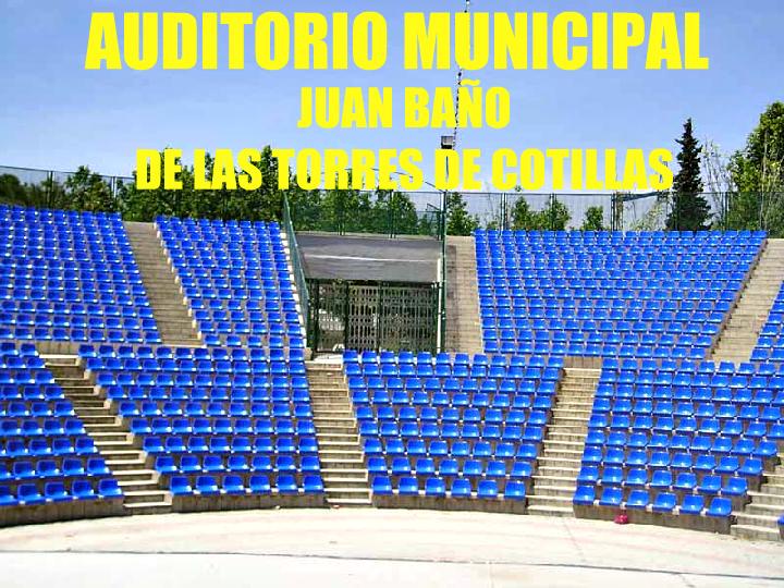 Auditorio Municipal Juan Baño de Las Torres de Cotillas