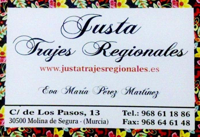 Justa Trajes Regionales