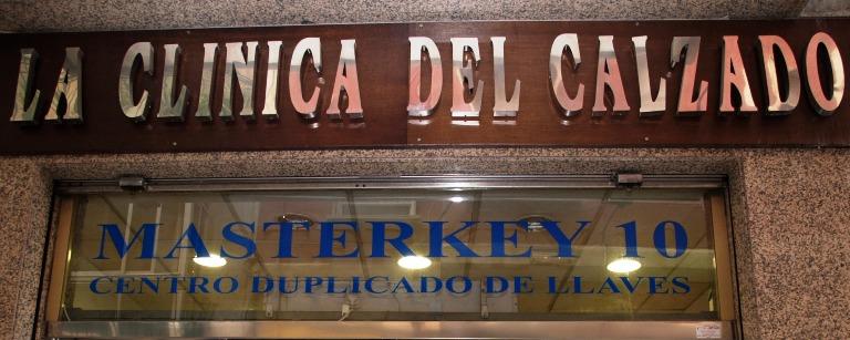La Clínica del Calzado Masterkey en Molina de Segura