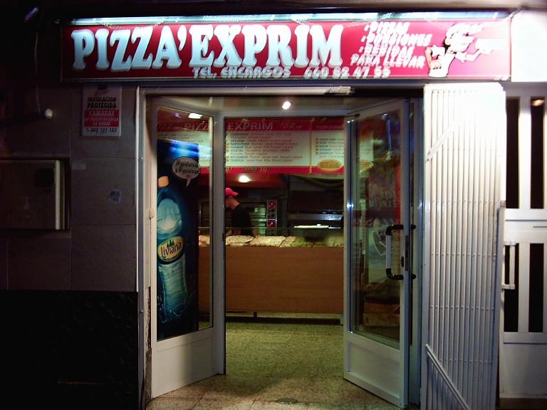 Pizza Exprim