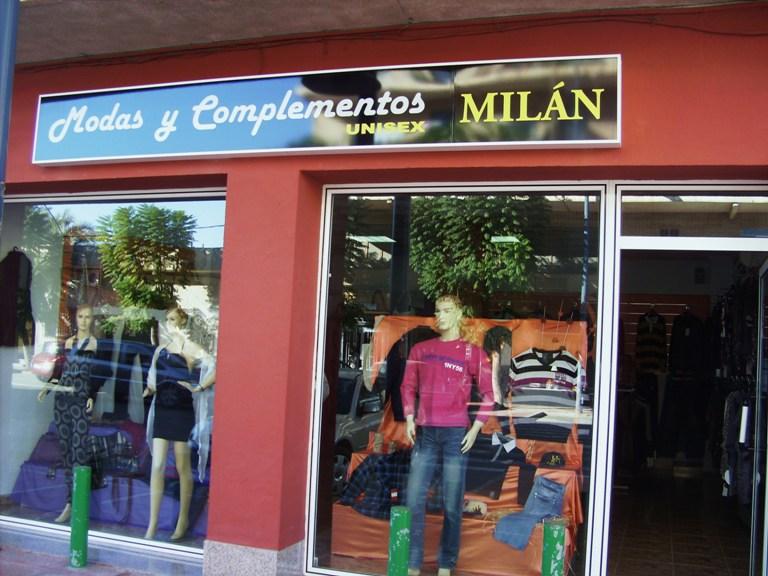 Modas y Complementos Milán