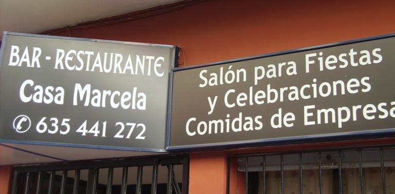 Bar Restaurante Casa Marcela