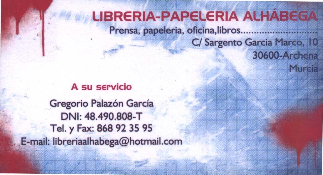 Librería Papelería Alhábega