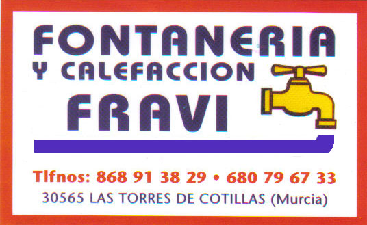 Fontanería y Calefacción FRAVI