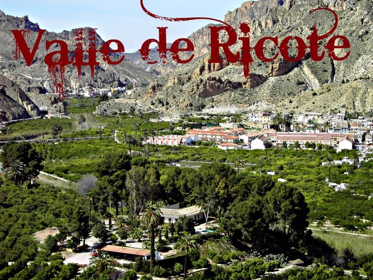 Rutas de senderismo Valle de Ricote