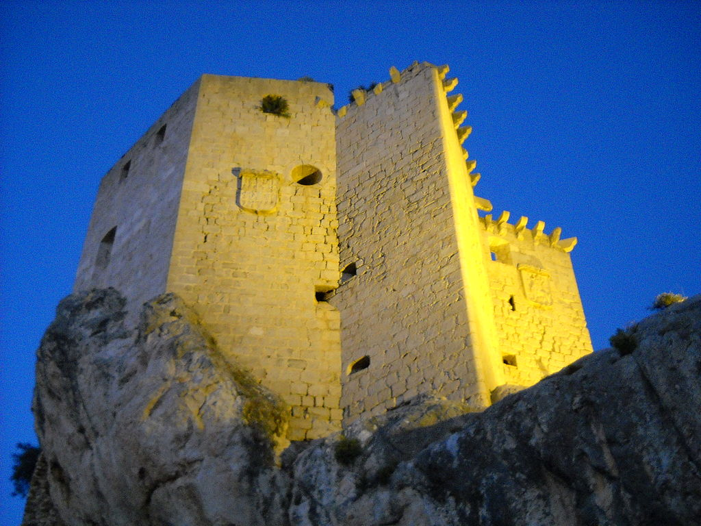 Castillo de Los Vélez en Mula