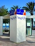 Oficinas de Turismo Punto de información Playa del Cura de Torrevieja
