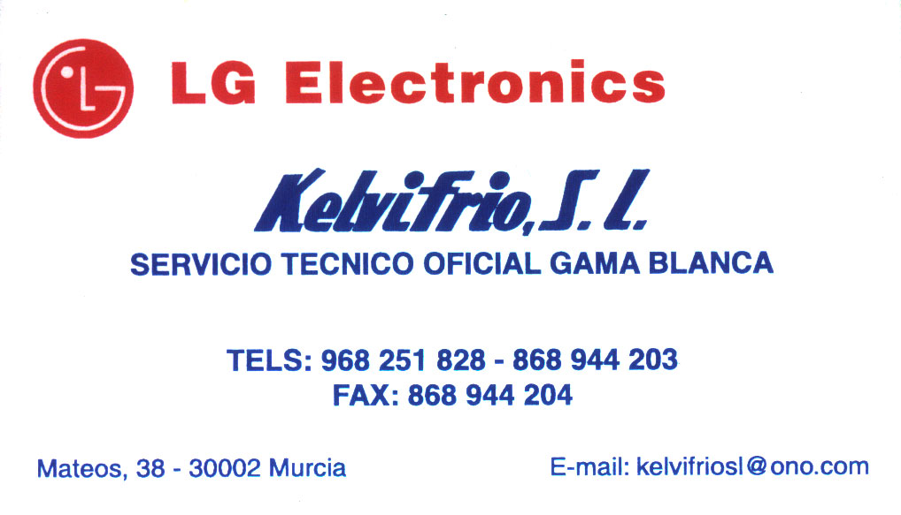 Kelvifrío S.L. Servicio Técnico LG Oficial