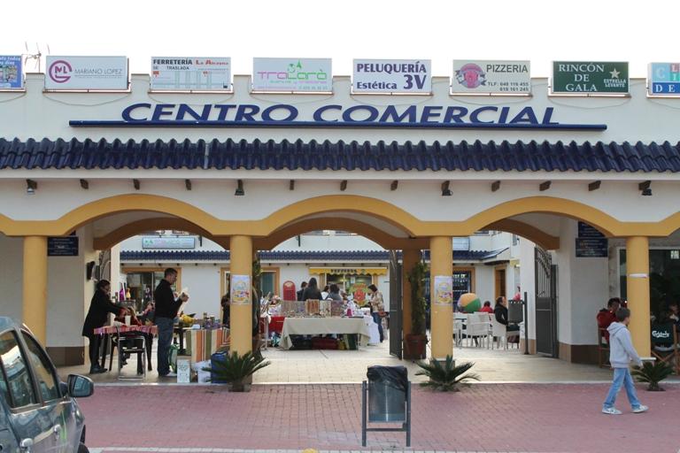 Centro Comercial Plaza Chica en La Alcayna